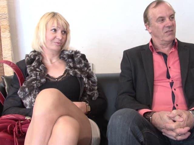 Un couple amateur Français de Normandie vient visiter la maison du sexe